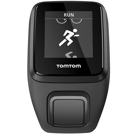 ZEGAREK TOMTOM Runner 3 Cardio+Music Czarno-Zielony (L) 1RKM.001.00