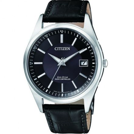 Citizen AS2050-10E Zegarek Męski na pasku Eco Drive Radiocontrol