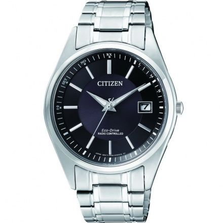 Citizen AS2050-87E Zegarek Męski na pasku Eco Drive Radiocontrol