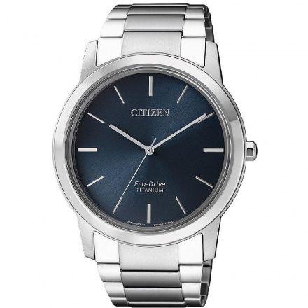 Citizen AW2020-82L Zegarek Męski na bransolecie Eco Drive Titanium