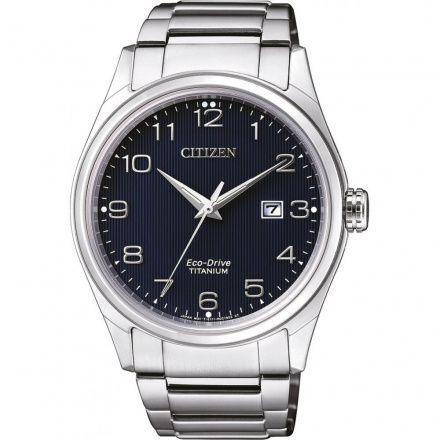 Citizen BM7360-82M Zegarek Męski Titanium BM7360 82M