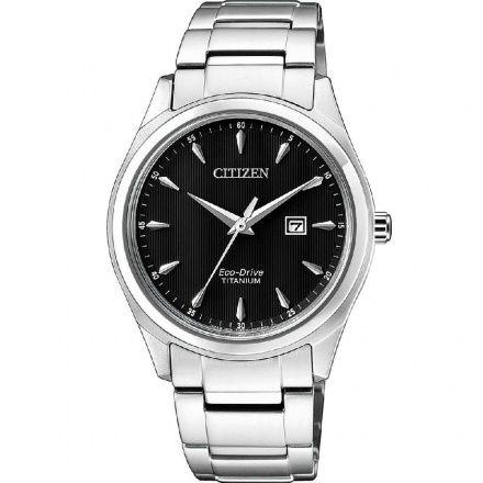 Citizen EW2470-87E Zegarek Damski na bransolecie Eco Drive Titanium