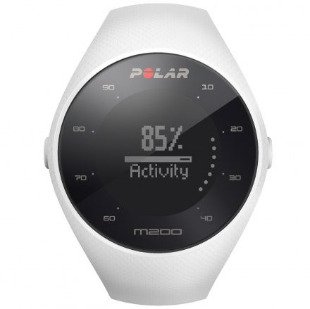 POLAR M200 WHITE M/L - Smartwatch pulsometr z GPS