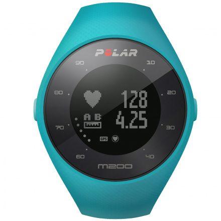 POLAR M200 BLUE M/L - Smartwatch pulsometr z GPS