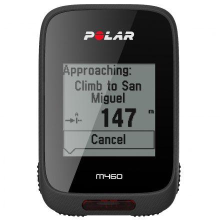 POLAR M460 HR - Komputer rowerowy z GPS z Pasem HR