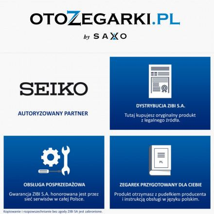 Seiko SNKM87K1 Zegarek Męski Automatic