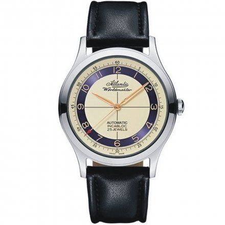 Zegarek Męski Atlantic Worldmaster The Original 53754.41.93Rb