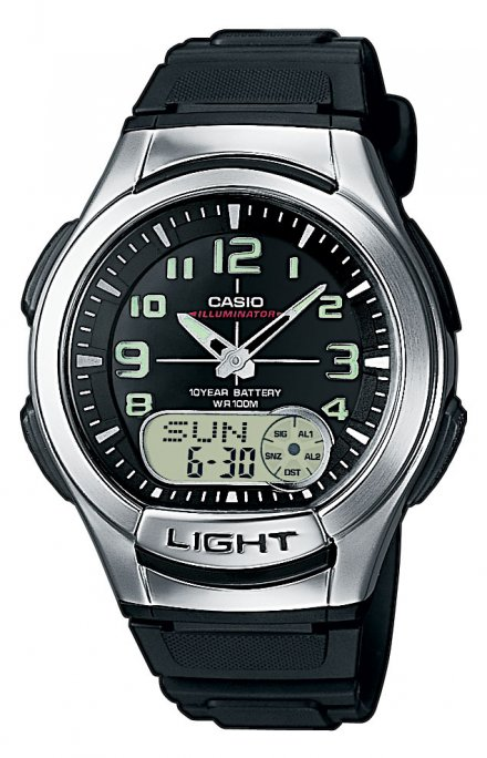 Zegarek Casio AQ-180W-1BV Casio Sport AQ-180W -1BV