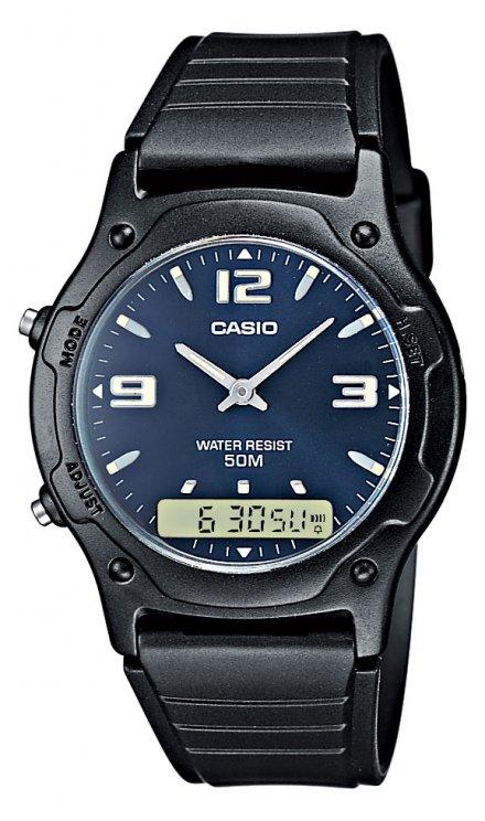 Zegarek Casio AW-49HE-2AV Casio Sport AW-49HE -2AV