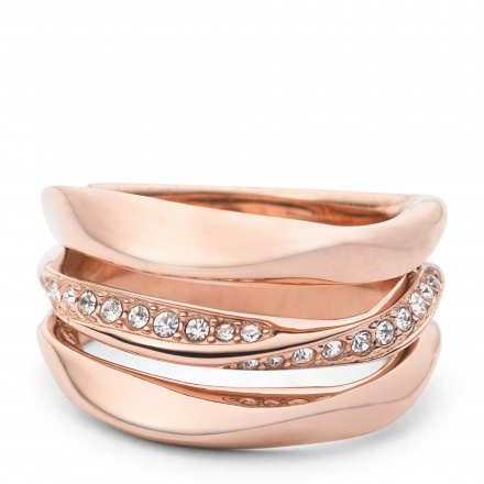 Biżuteria Fossil - Pierścionek JF01321791503 160 Rozmiar 10 - SALE -30%