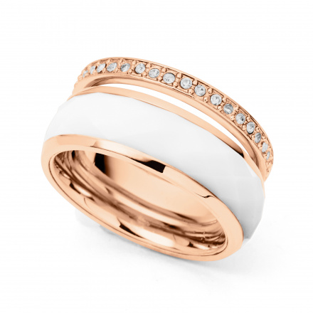 Biżuteria Fossil - Pierścionek JF01123791505 170 Rozmiar 13