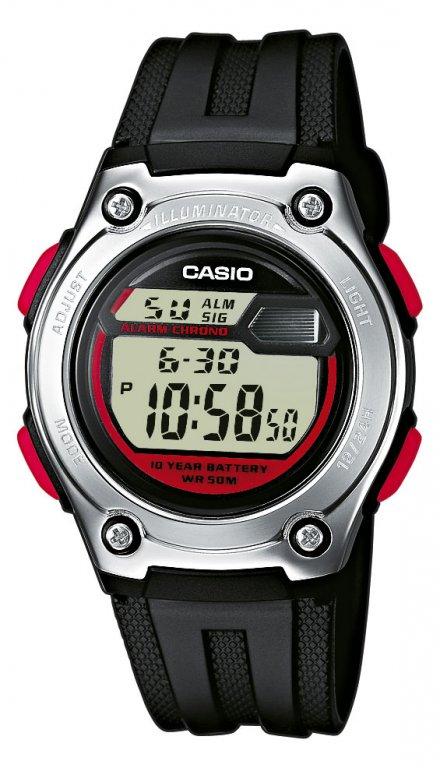 Zegarek Casio W-211-1BVEF Casio Sport W-211 -1BVEF