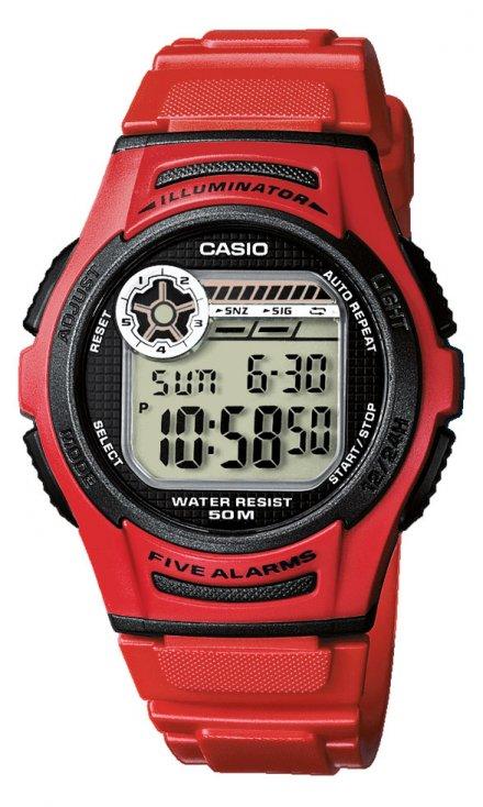 Zegarek Casio W-213-4AVEF Casio Sport W-213 -4AVEF