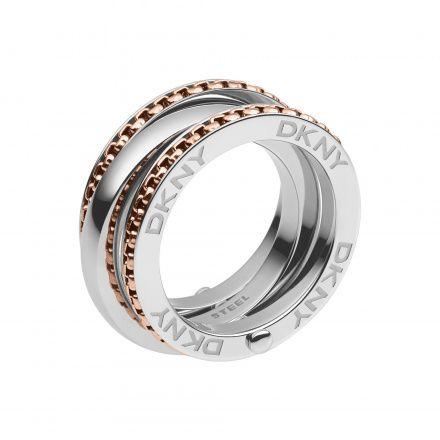 Biżuteria DKNY NJ2079931 170 - Pierścionek Rozmiar 17 - SALE -30%