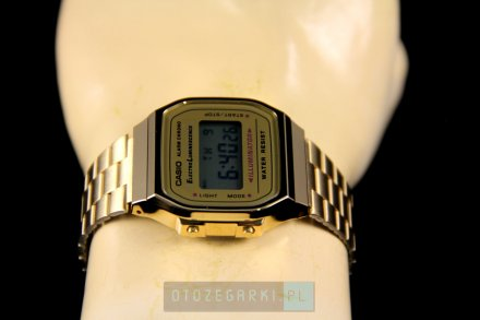 Zegarek Casio A168WG-9EF Casio Vintage w stylu Retro A168WG -9EF