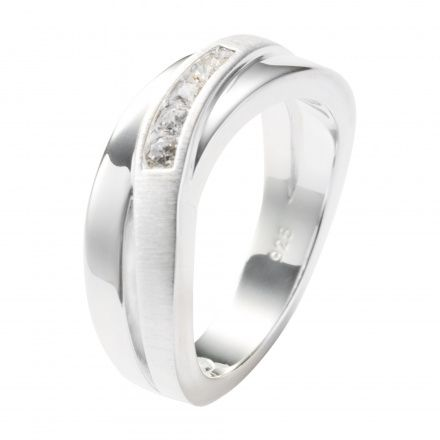 Biżuteria Fossil - Pierścionek JF12766040503 160 Rozmiar 10 - SALE -30%