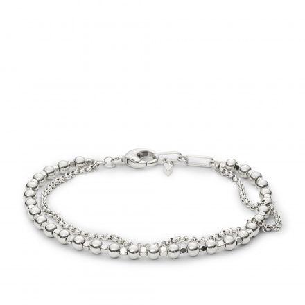 Biżuteria Fossil - Bransoleta JA6775040