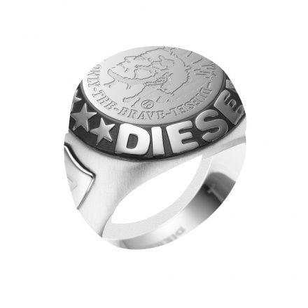 Biżuteria Diesel - Obrączka DX0182040