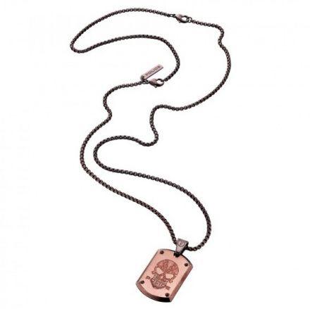 Biżuteria Police - PJ.25607PSEBR-SKULL - Naszyjnik PROWLER PJ25607