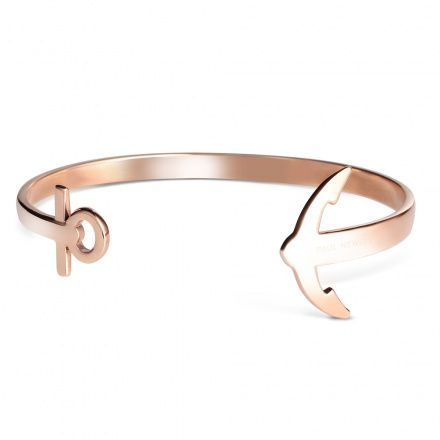 Bransoletka Paul Hewitt Ancuff Rose Gold - S - PH-CU-R-S