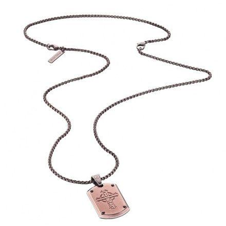 Biżuteria Police - 25607PSEBR-CROSS - Naszyjnik PROWLER PJ25607