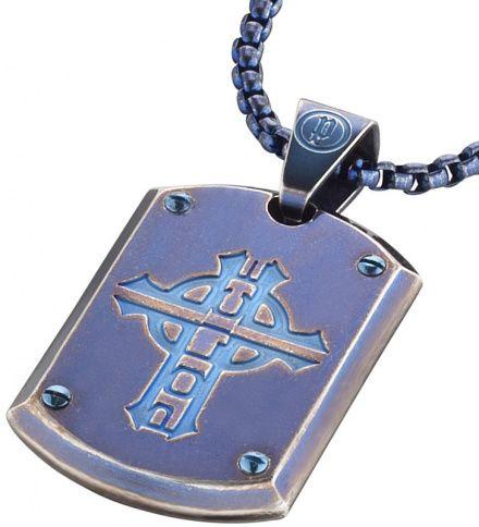 Biżuteria Police - PJ.25607PSEBL-CROSS - Naszyjnik PROWLER PJ25607