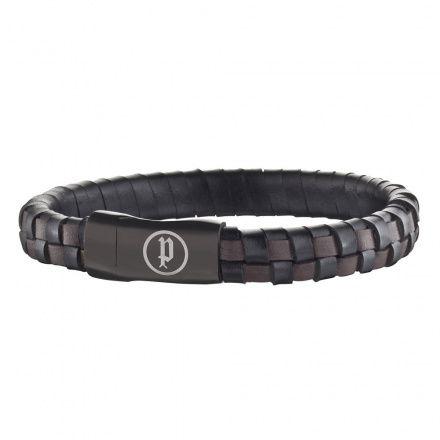Biżuteria Police - PJ.25689BLB/03-L - Bransoleta CONNECTOR PJ25689