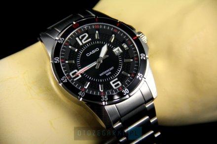 Zegarek Męski Casio MTP-1291D-1A1VEF Casio Classic MTP-1291D -1A1VEF