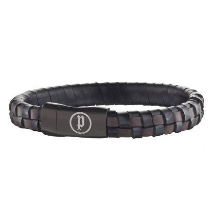Biżuteria Police - PJ.25689BLB/03-S - Bransoleta CONNECTOR PJ25689