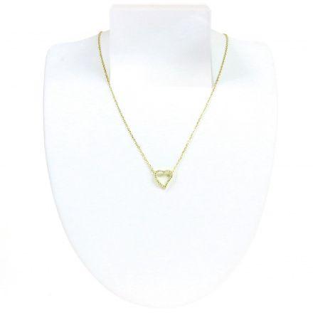 Biżuteria damska ze srebra SAXO Naszyjnik srebrny pozłacany SŁ.033.01