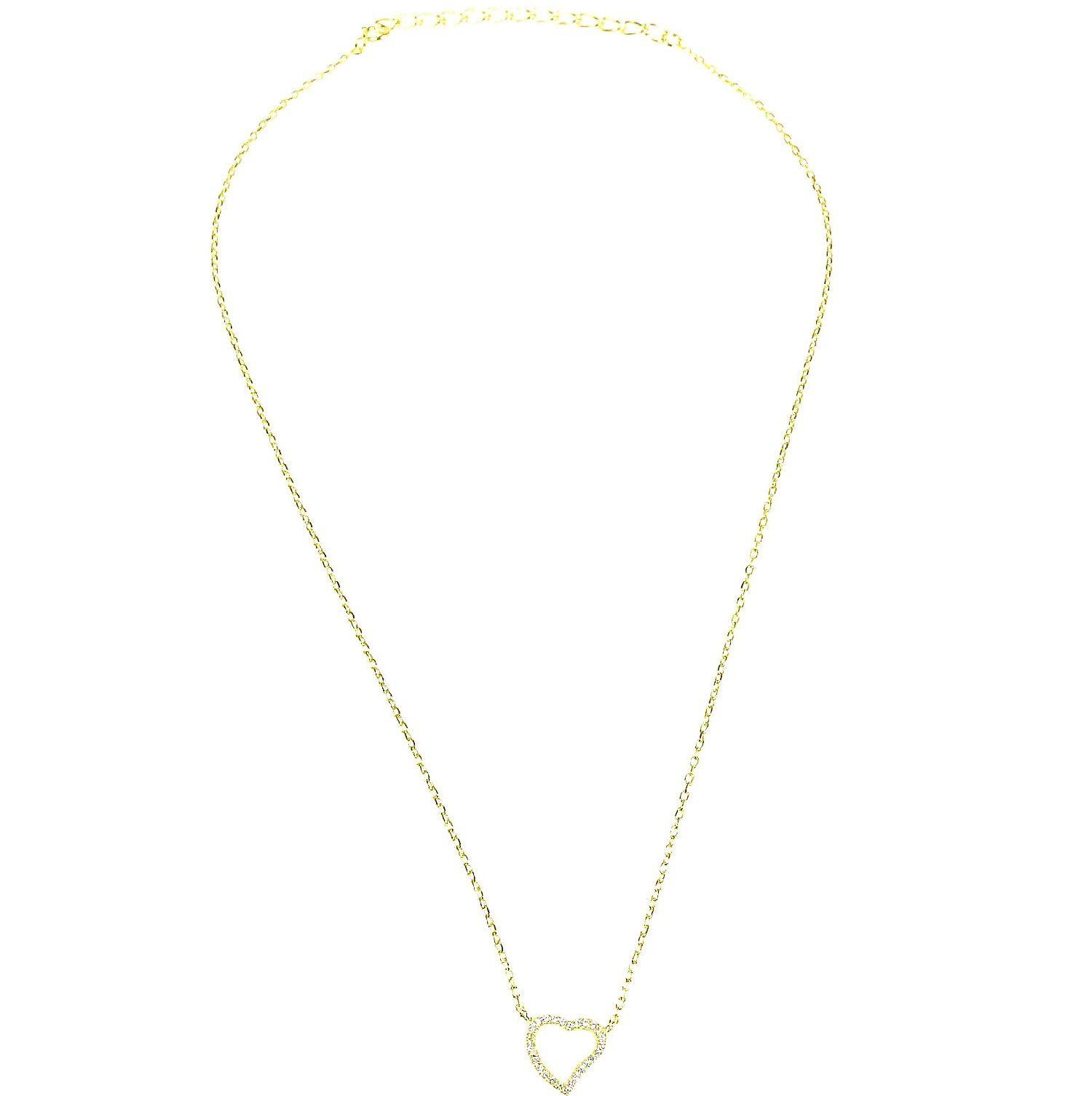 4df163ad9b Biżuteria damska ze srebra SAXO Naszyjnik srebrny pozłacany SŁ.033.01