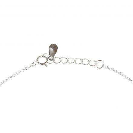 Biżuteria damska ze srebra SAXO Naszyjnik srebrny pozłacany SŁ.056.01