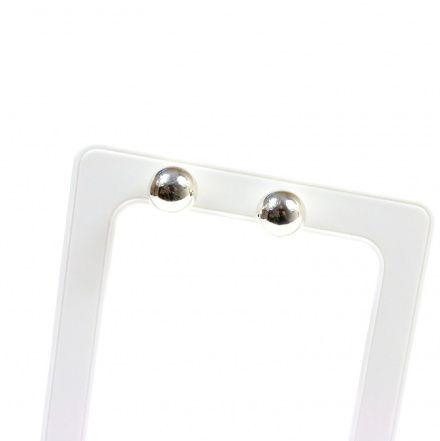 Biżuteria damska ze srebra SAXO Kolczyki srebrne kulki 10 mm SK.023.01