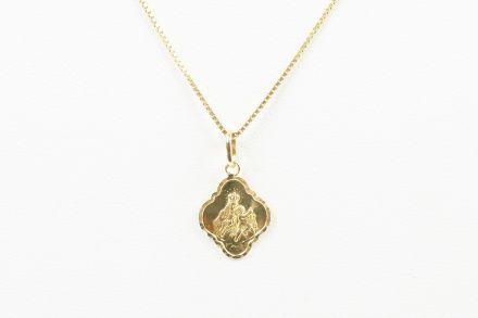 Biżuteria damska ze złota PR.585 14 Karat SAXO Zawieszka złota ZZ.A.075.02