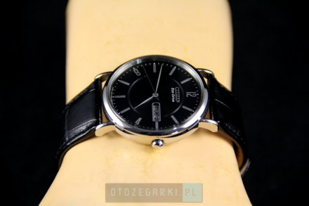 Citizen BM8241-01EE Zegarek Męski na pasku Eco Drive Citizen Leather