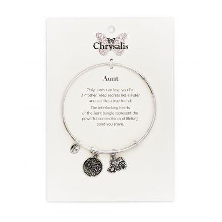 Biżuteria Chrysalis Bransoletka Friends & Family Aunt CRBT0706SP