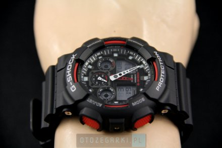Zegarek Casio GA-100-1A4ER G-Shock GA-100 -1A4ER