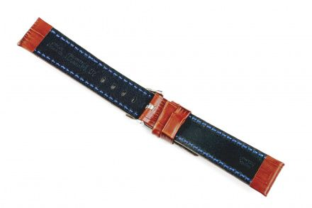 Jasnobrązowy pasek skórzany 20 mm HIRSCH Grand Duke 02528070-2-20 (L)
