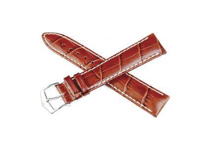 Jasnobrązowy pasek skórzany 20 mm HIRSCH Modena 10302870-2-20 (L)