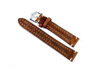 Brązowy pasek skórzany 18 mm HIRSCH Liberty 10900210-2-18 (L)
