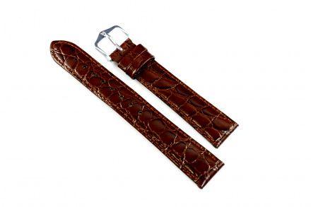 Pasek Skórzany HIRSCH Crocograin 12322810-2-18 - Najwyższa Klasa Wśród Pasków