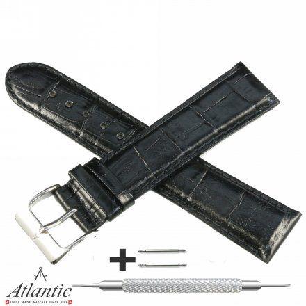 Oryginalny Pasek Atlantic Model PA ATL L168.01.22S 22 mm