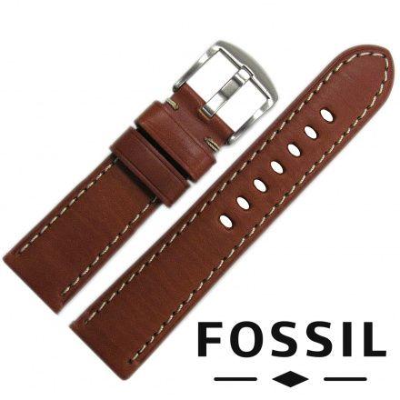 Pasek FOSSIL - Oryginalny pasek ze skóry do zegarka Fossil