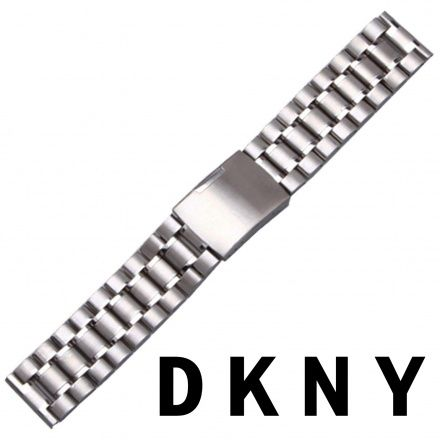 Pasek DKNY - Oryginalna Bransoleta Stalowa Do Zegarka DKNY