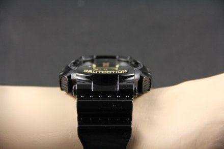 Pasek 10391028 Do Zegarka Casio Model GD-100GB czarny połysk