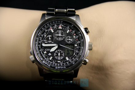 Citizen JY8020-52E Zegarek Męski Eco Drive Citizen Radiocontrol
