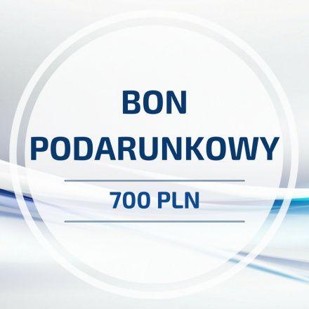 BON PODARUNKOWY o wartości 700 PLN