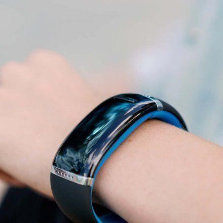 Smartwatch Garett Ione Niebieski/Czarny