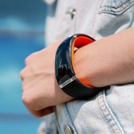 Smartwatch Garett Ione Pomarańczowy/Czarny