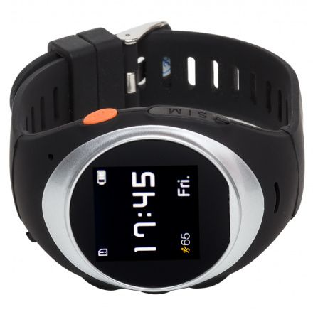 Smartwatch Lokalizator Garett Gps2 Srebrny